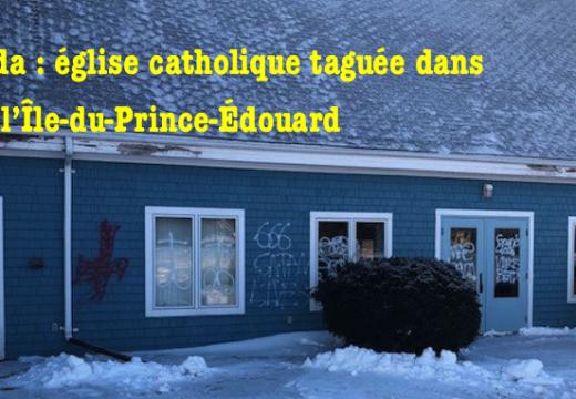 Canada : une église taguée à Stratford