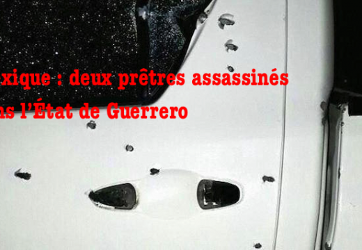 Mexique : deux prêtres tués dans l'État de Guerrero