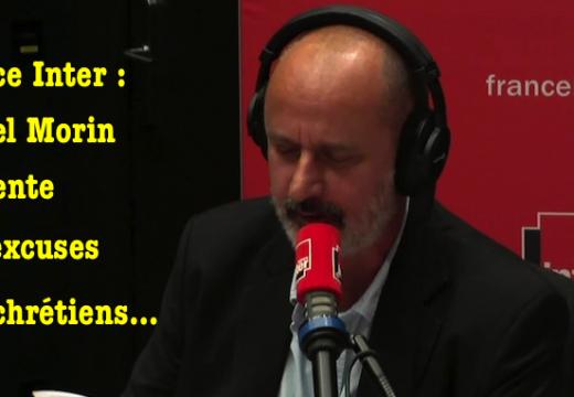 """France Inter : un """"humoriste"""" s'excuse d'avoir offensé les chrétiens"""