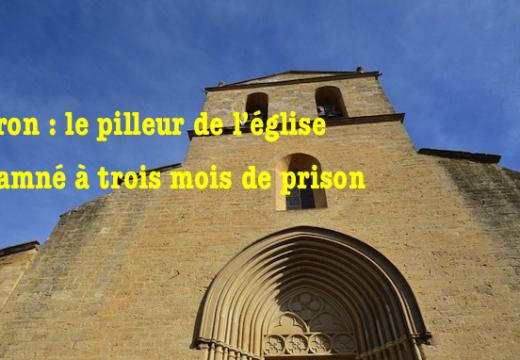 Cucuron : le pilleur de tronc de l'église condamné à 3 mois de prison