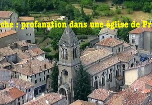 Privas : profanation dans l'église Saint-Thomas