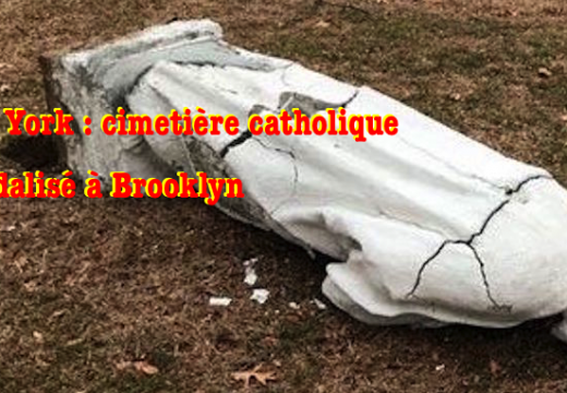 New York : cimetière catholique vandalisé à Brooklyn