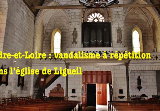 Indre-et-Loire : actes de vandalisme dans l'église de Ligueil