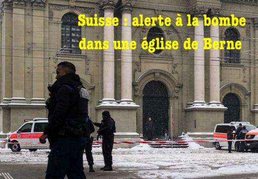 Suisse : alerte à la bombe dans une église de Berne
