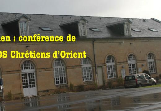 Caen : conférence de SOS Chrétiens d'Orient