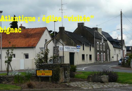 """Loire-Atlantique : église """"visitée"""" à Herbignac"""