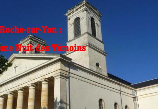 La Roche-sur-Yon : 10ème Nuit des Témoins de l'AED