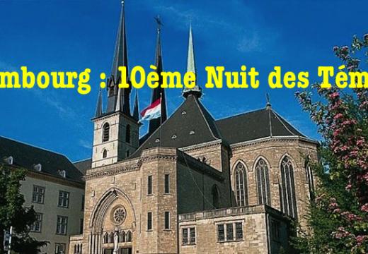 Luxembourg : 10ème Nuit des Témoins de l'AED