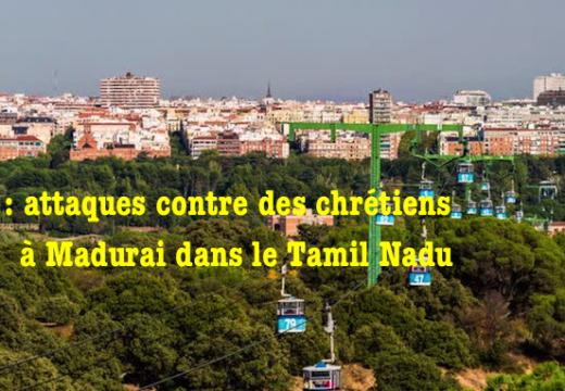 Inde : des pentecôtistes attaqués dans le Tamil Nadu