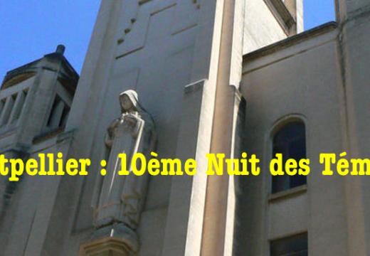 Montpellier : 10ème Nuit des Témoins de l'AED