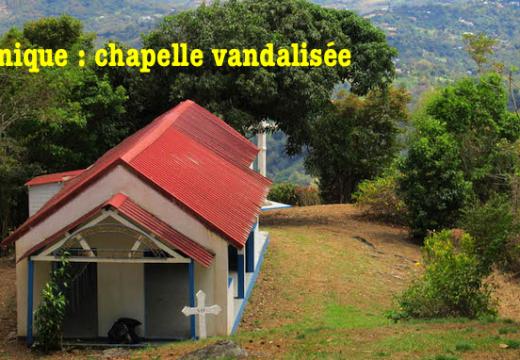 Martinique : une chapelle vandalisée