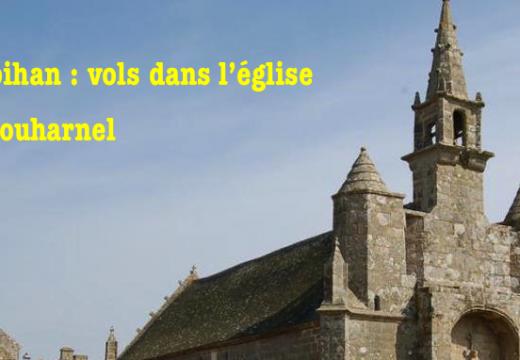 Morbihan : vols dans l'église de Plouharnel