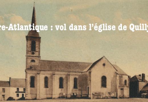 Loire-Atlantique : vols dans l'église de Quilly