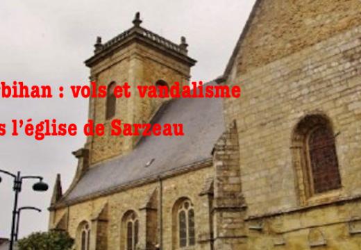 Morbihan : vols et vandalisme dans l'église de Sarzeau
