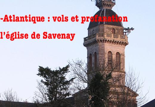 Loire-Atlantique : vols et profanation dans l'église de Savenay