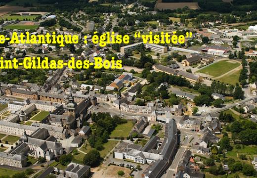 """Loire-Atlantique : église """"visitée"""" à Saint-Gildas-des-Bois"""