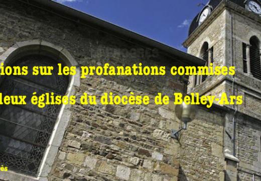 Ain : précisions sur les deux églises profanées