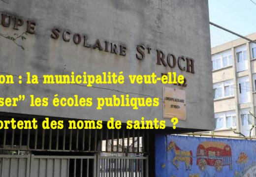 """Avignon : la municipalité veut-elle """"laïciser"""" les noms d'écoles publiques ?"""