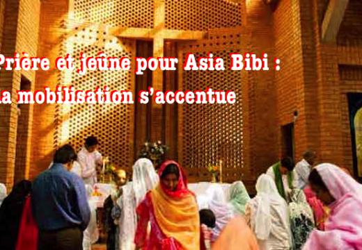 Pakistan : appel à la prière pour Asia Bibi