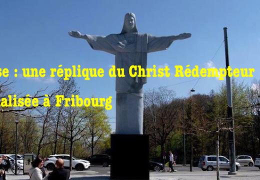Suisse : une statue du Christ vandalisée à Fribourg