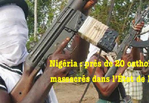 Nigéria : deux prêtres et seize fidèles assassinés