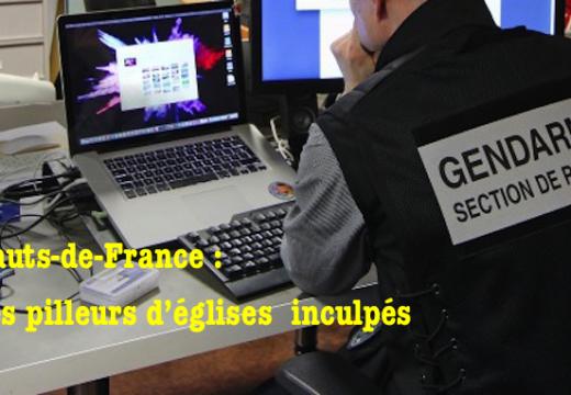 Hauts-de-France : des pilleurs d'églises identifiés mais laissés en liberté