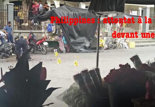 Philippines : attentat à la bombe contre une église