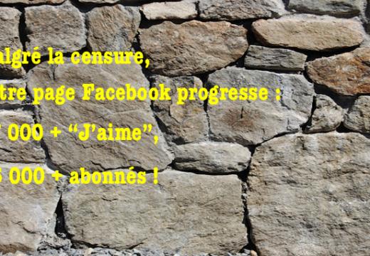 Page Facebook : 37 000 + , 35 000 +