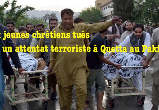 Pakistan : attaque terroriste antichrétienne à Quetta