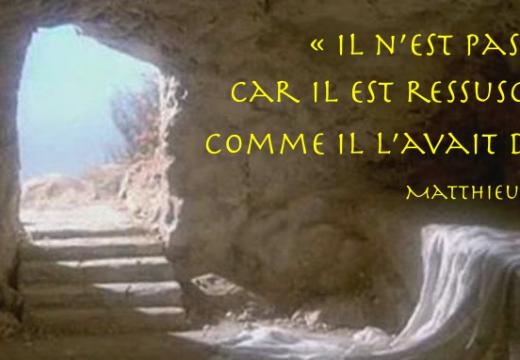 Joyeuse et sainte fête de Pâques !