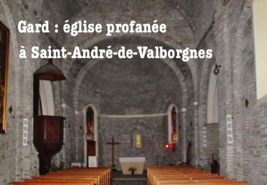 Église profanée à Saint-André-de-Valborgnes