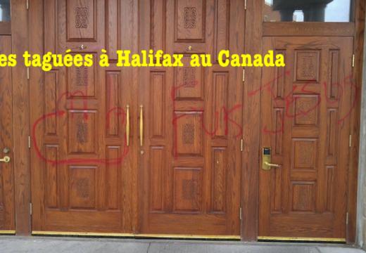 Canada : deux églises taguées dans la nuit de Pâques à Halifax