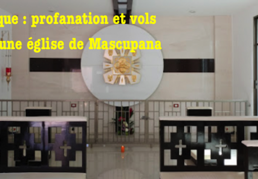 Mexique : église profanée Macuspana