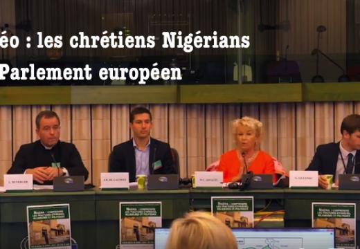 Les chrétiens nigérians au Parlement européen (vidéo)