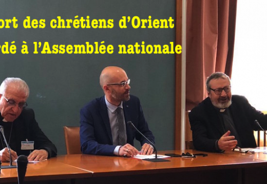 Les chrétiens d'Orient et l'Assemblée nationale