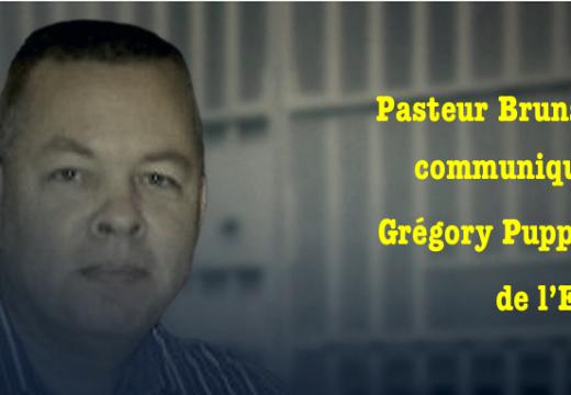 Pasteur Brunson : un communiqué de l'ECLJ