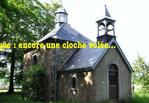 Belgique : encore une cloche volée…