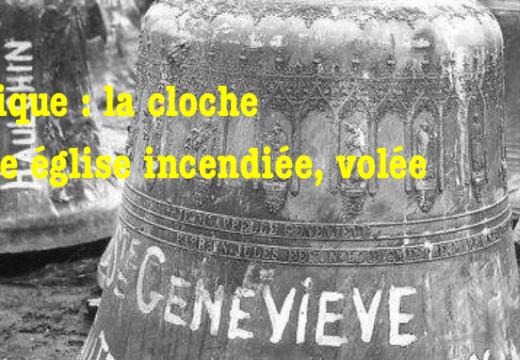 Vol d'une cloche d'une église à Lobbes, en Belgique