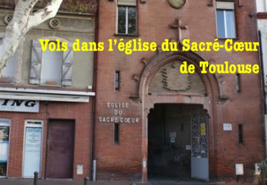 Toulouse : vols dans une église