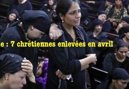 Égypte : sept chrétiennes enlevées en avril !