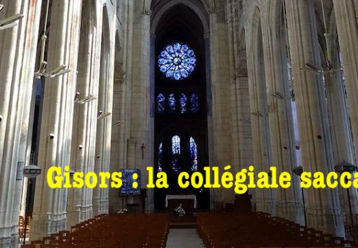 L'église de Gisors saccagée par un homme masqué…