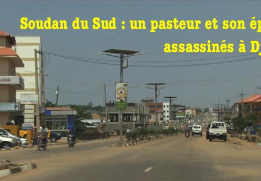 Soudan du Sud : un pasteur et son épouse assassinés