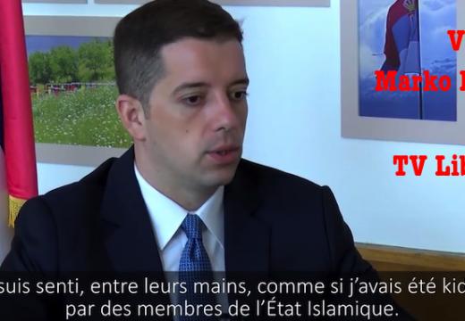 Marko Djuric : « C'est comme si j'avais été enlevé par des membres de l'État Islamique »