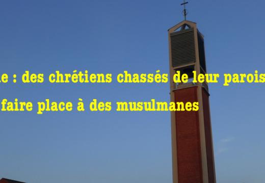Allemagne : chrétiens chassés de leur paroisse pour faire place à des musulmanes