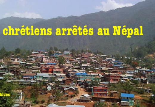 Six chrétiens arrêtés au Népal