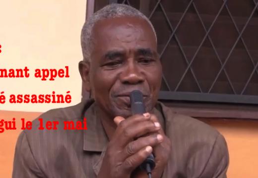 Vidéo : l'appel du Père Tongoumalé-Baba, tué dans l'attentat de Bangui