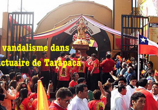 Chili : vandalisme dans une église de Tarapacá