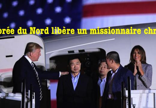 Corée du Nord : un des prisonniers étatsuniens libérés est un missionnaire chrétien