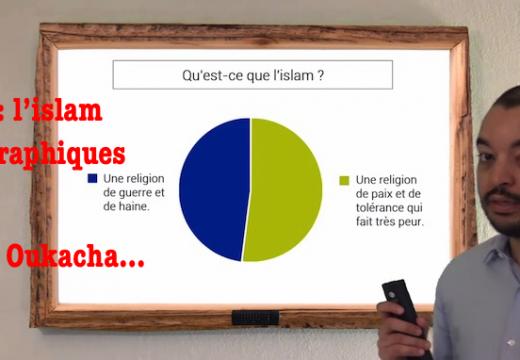 Vidéo détente : L'islam en sept graphiques par Majid Oukacha…