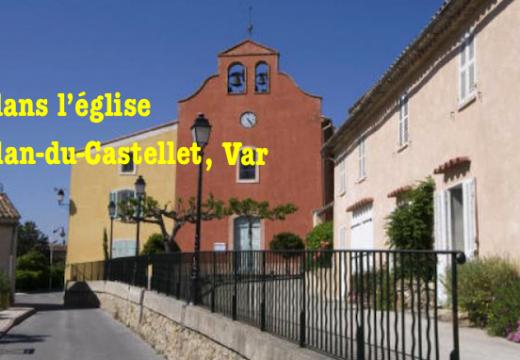 Vol dans l'église de Plan-du-Castellet, dans le Var